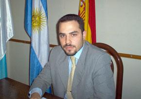 Santos Gastón Juan, presidente de la Asociación de Jóvenes Descendientes de Españoles en Argentina (Ajdera).
