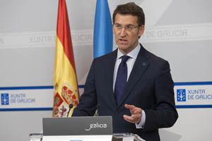 El presidente de la Xunta, Alberto Núñez Feijóo, explicó estas medidas tras el Consello.