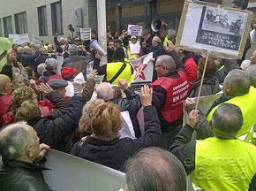 Manifestación en A Coruña.