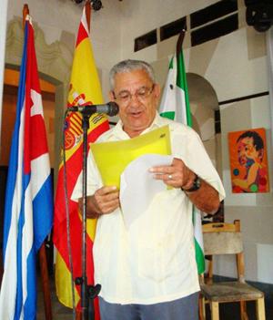 Manuel Vallejo tuvo a su cargo las palabras centrales.