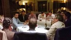 En la reunión participaron profesionales de diversos sectores.
