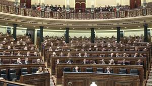 El Congreso aprobó la toma en consideración de la proposición de ley del Parlamento gallego sobre el voto exterior.