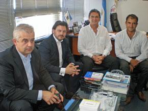Alejandro López Dobarro, Antonio Rodríguez Miranda, Claudio Avruj y Julio Croci.
