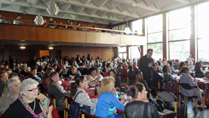 El evento lo organizó la Coordinadora del Movimiento Asociativo en Alemania.
