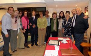Asamblea de socios del pasado 25 de febrero.