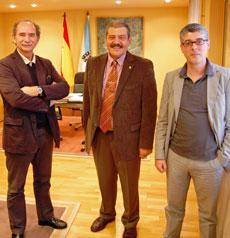 Ramón Brigos, Francisco Fernández Lista e Ildefonso de la Campa.