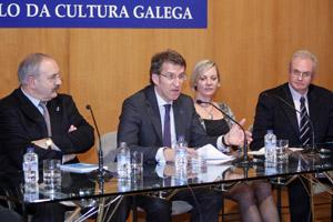 Feijóo clausuró el seminario internacional sobre Fray Rosendo Salvado.
