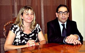 Esperanza Romariz y Juan Carlos Grau.