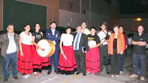 Antonio Rodríguez Miranda con miembros del Centro Gallego de Lima con quienes estuvo el jueves 10 de abril.