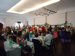 Un momento de la celebración en el Centro Cultural Andalucía de Buenos Aires.