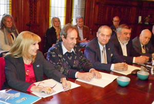 Todos los participantes destacaron el clima de camaradería y trabajo que se vivió durante la reunión.