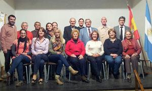 La Comisión Directiva del Centro de Castilla y León de Mar del Plata para este año 2014.