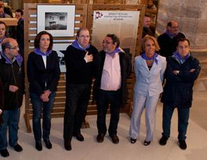 Herrera en la muestra Castilla y León. Tierra de Comunidades que recoge un apartado sobre emigración, integración y retorno.