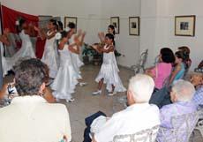 Actuación del grupo 'Sangre Gitana'.