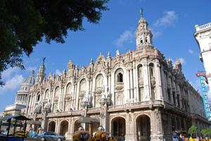El Centro Gallego de La Habana (hoy Gran Teatro de La Habana) es uno de los edificios más emblemáticos de la emigración gallega.