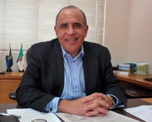 El delegado del Gobierno canario en Venezuela, Jacinto Pérez Acosta.