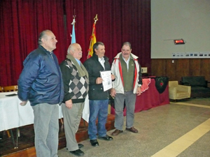 Se entregaron 13 certificados de arribo.