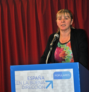 Esperanza Romariz presidenta del PP de Uruguay.