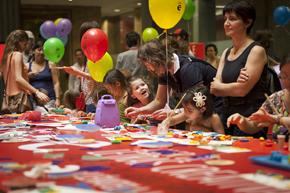 Los más pequeños pudieron disfrutar con unas actividades especialmente dirigidas a ellos.
