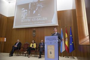 Feijóo en el homenaje a Castelao por el aniversario de Sempre en Galiza.