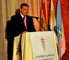 El actual presidente del Centro Gallego, Jorge Torres Cantalapiedra.
