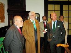 Francisco Lores, Estanislao de Grandes y Santiago Camba.