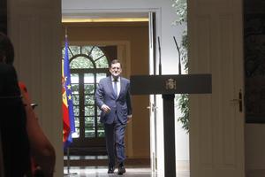 El presidente del Gobierno, Mariano Rajoy, explicó los acuerdos tomados en el Consejo de Ministros del viernes 1 de agosto.