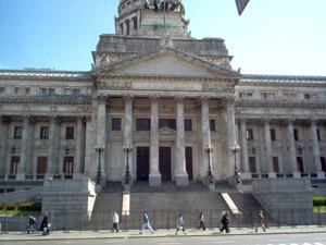 Sede del Congreso de Diputados de Argentina, en el que el proyecto fue aprobado por amplia mayoría.
