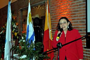 La intendenta de Montevideo, Ana Olivera.