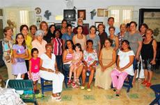 Socios y directivos del Club Villarino.