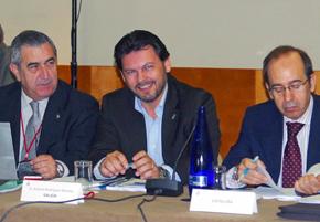 Antonio Rodríguez Miranda en la reunión del CGCEE.
