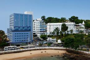 Vista del Hospital Español de Salvador de Bahía.