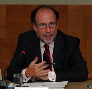 Antonio Ramos en su intervención.