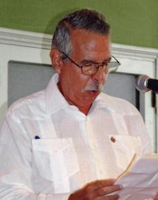Manuel Barros.