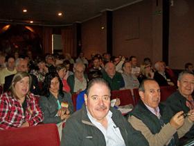 Algunos de los participantes en la reunión.