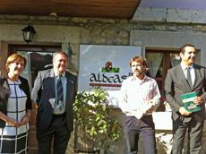 Begoña Serrano, Javier Álvarez, José Sánchez, y Julio González Zapico.