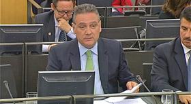 Intervención de Alfredo Prada en la Comisión de Educación y Cultura del Congreso.