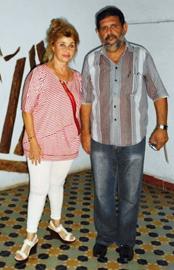 Perla Díaz y Roberto Muñoz.