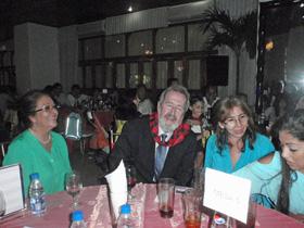 Fernando Aznárez fue también reconocido por su meritoria labor educativa y social con la distinción Huella Aragonesa.