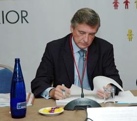 El subsecretario de Asuntos Exteriores, Cristóbal González-Aller, responsable de la atención de los españoles en el exterior.