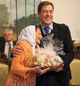 Taty Almeida y José Ramón Gómez Besteiro.