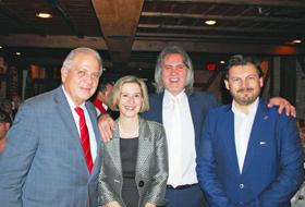 Tomás Regalado, Carmen Pita,  José Manuel Brandariz y Rodríguez Miranda.