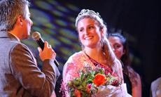 La nueva reina del Estadio Español, Carolina Tirado.