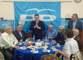 El director ejecutivo del PP en el Exterior agradeció a los afiliados en Argentina por su trabajo y dedicación.