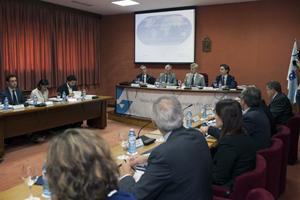 El vicepresidente Alfonso Rueda y el conselleiro Francisco Conde intervinieron en la reunión del Consello de Acción Exterior.