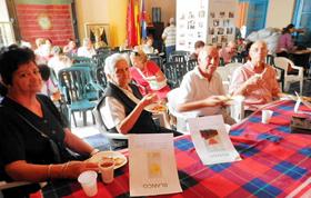 Degustando los productos típicos de Zamora y los vinos de la comarca de Toro.