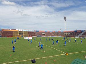 La iniciativa está dirigida a la formación deportiva de los niños de más bajos recursos del barrio de Bajo Flores.