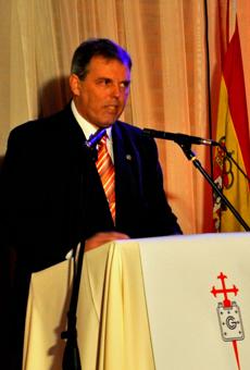 El presidente del Centro Gallego de Montevideo, Jorge Torres.