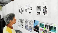 Se inauguró una exposición fotográfica sobre los 17 años de la fiesta del magosto.