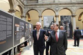 El ministro García-Margallo inauguró la exposición.